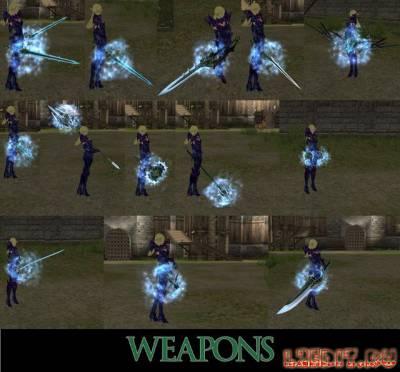 Оружие в стиле avatar для Gracia Final